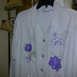 Women' Napa Valley Jacket Embroidered